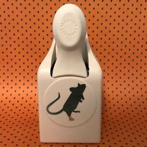 Martha Stewart large Halloween paper punch rat